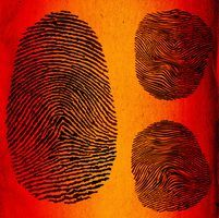 Kids will enjoy making crafts out of their own fingerprints.