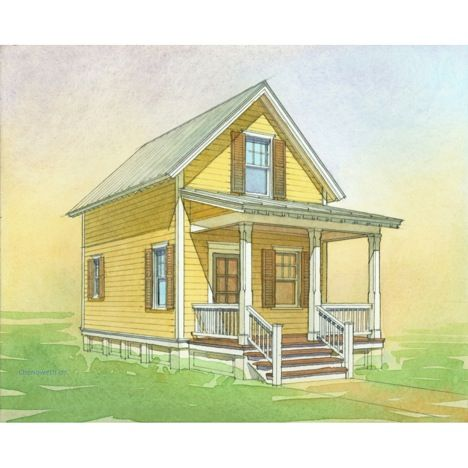 Katrina Cottages Rolled Out By Lowes Nationwide Cottage Floor Plans Cottage Style House Plans Cottage Roll