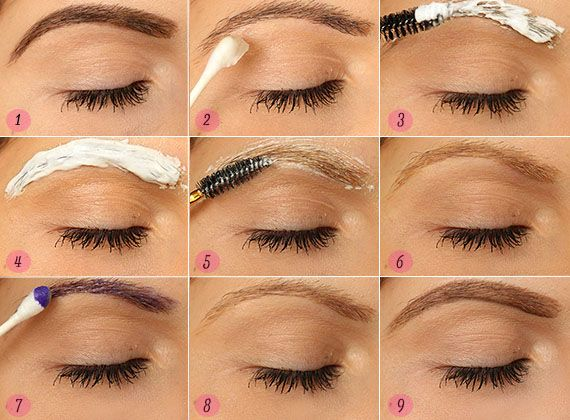 How To Bleach Your Eyebrows At Home Bleached Eyebrows How To Color Eyebrows Lighten Eyebrows