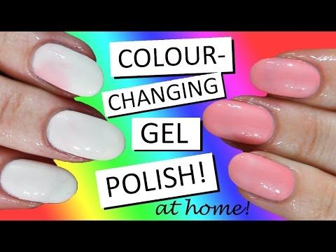 COLOUR-CHANGING GEL POLISH - AT HOME! | Opallac Review | Nailed It ...
