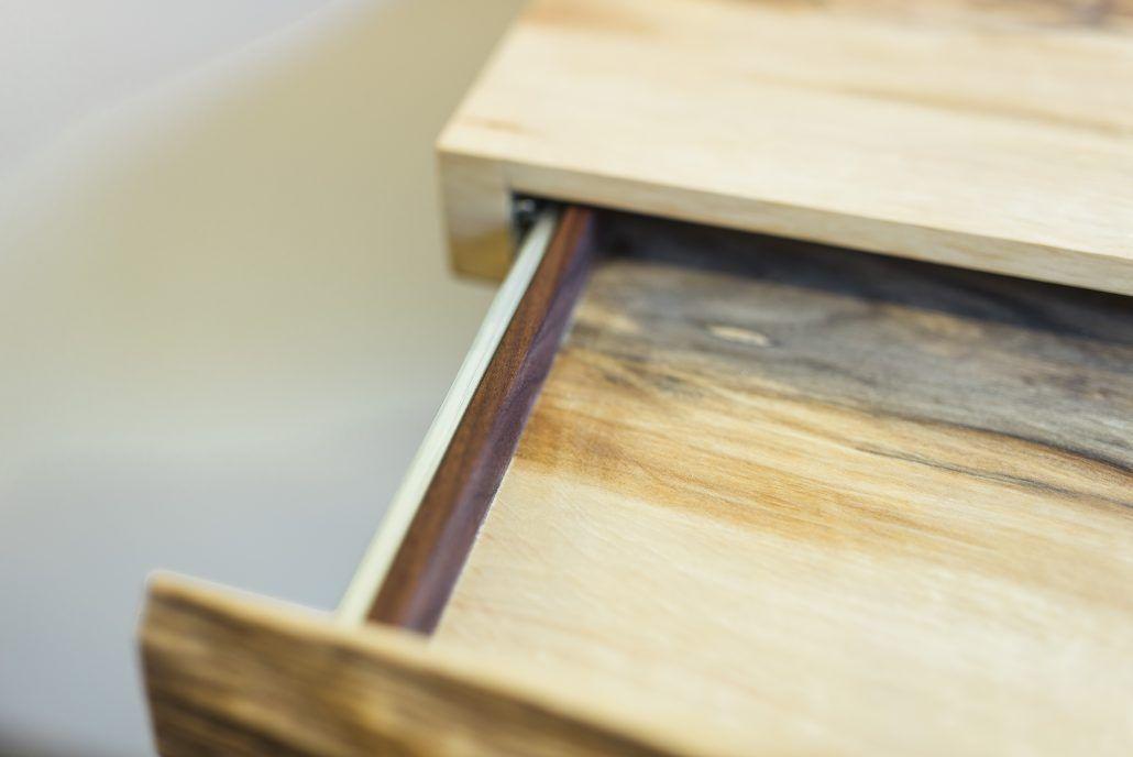 Wandplank Met La.La Planque Een Plank Met Verstopte Lade Voor Aan De Muur Cottage