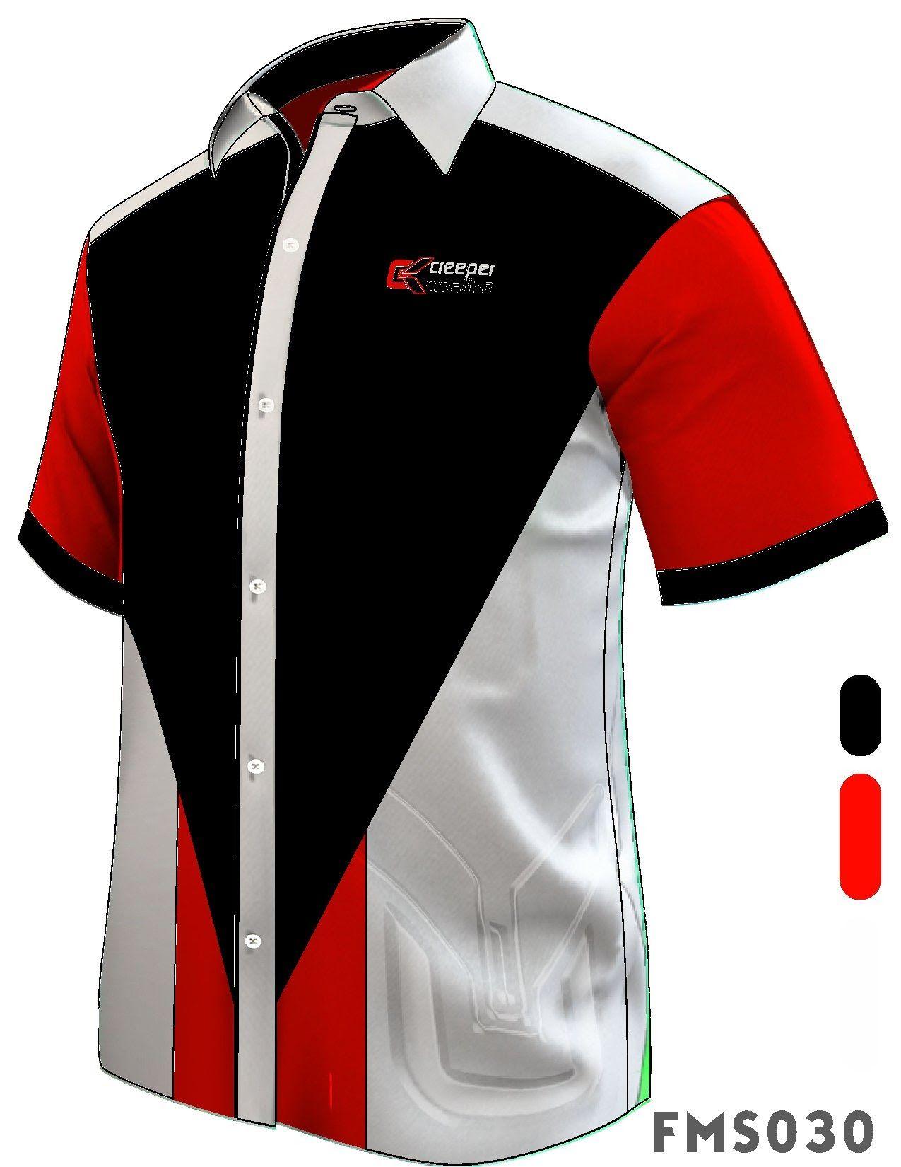 Baju Korporat Male Corporate Shirt Short