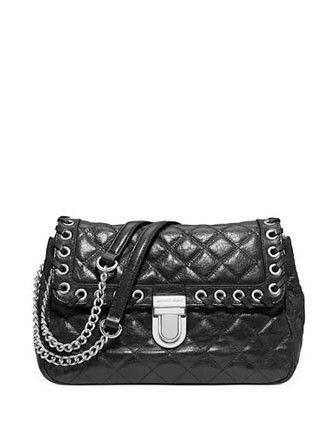 a3e8df7a3468 Michael Michael Kors Hippie Grommet Sloan Quilted Shoulder Bag ...