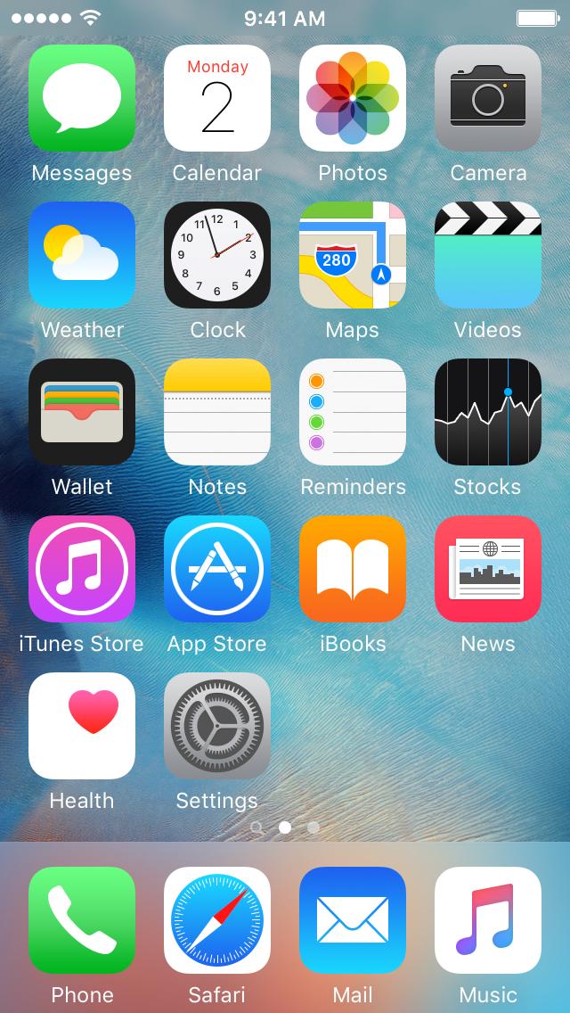 Invisible iOS Home Screen Icons David Smith Screen