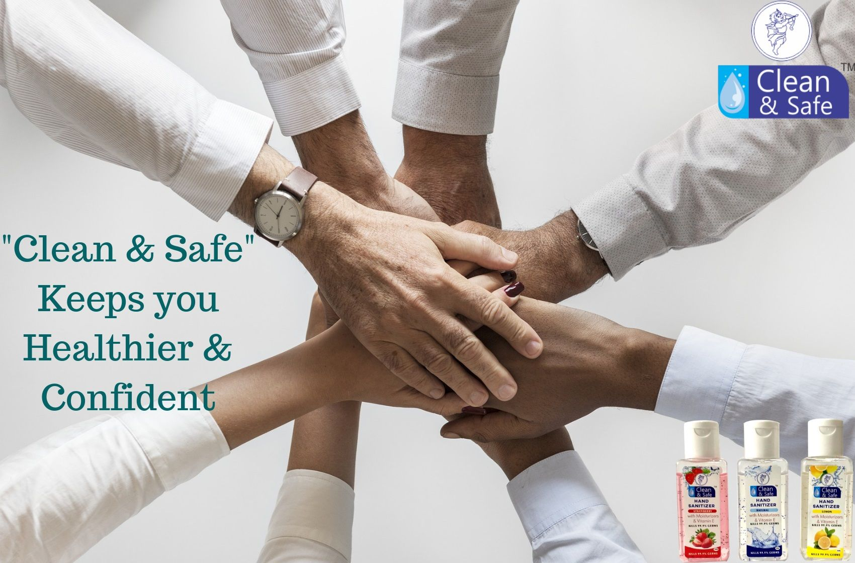 Keep Safe With Our Portable Size Hand Sanitizer With Aloe Honey