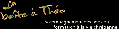 L'espace web «La Boîte à Théo» est proposé par l'Office de catéchèse du Québec aux personnes qui accompagnent des adolescentes et adolescents dans un cheminement de formation à la vie chrétienne.