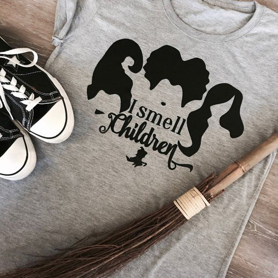 13fb88d3 I smell Children, Halloween, Hocus Pocus Shirt,Halloween Shirt,Fall Shirt,Sarah  Sanderson,Hocus Pocu