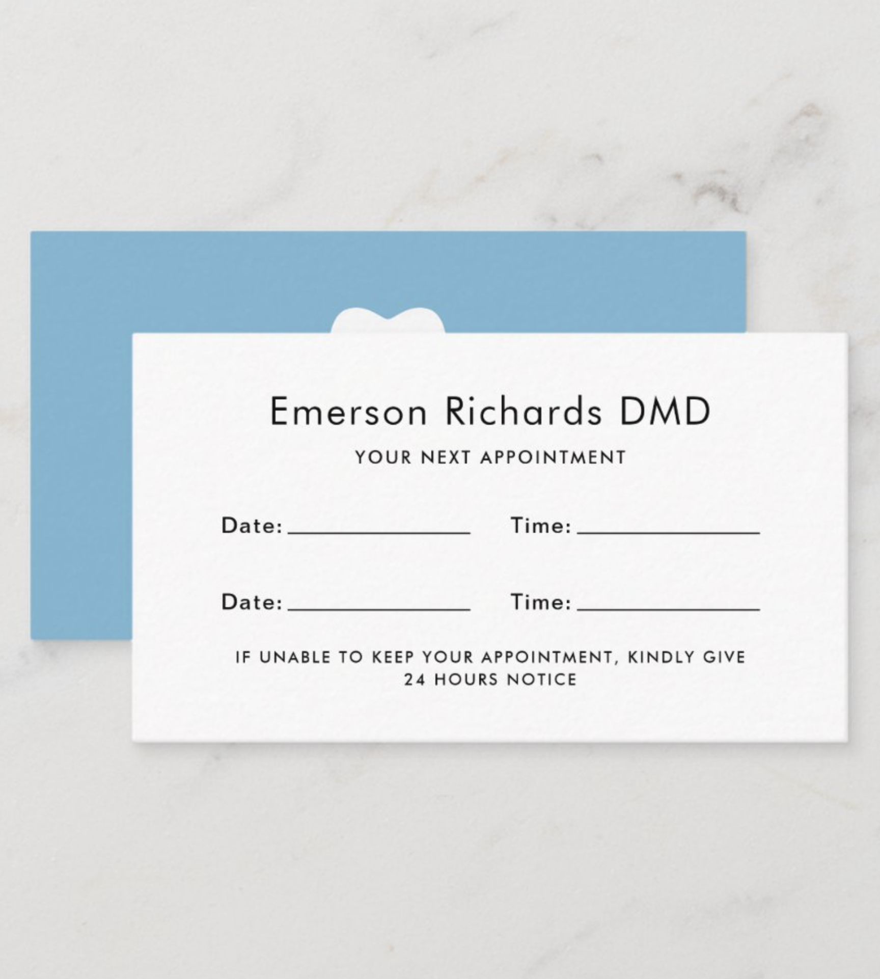 Dental Appointment Reminder Cards Custom Color Zazzle Com Custom Color Standard Business Card Size Colorful Backgrounds