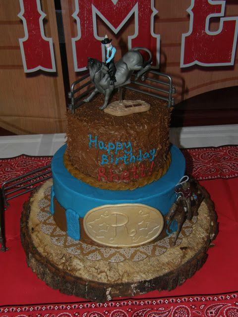 Mrs Lydias Kitchen Rodeo Birthday Cake Mrs Lydias Kitchen