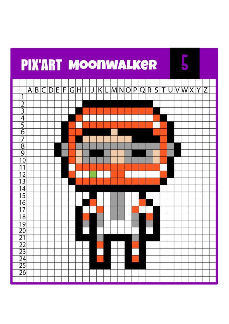 Pixel Art Fornite 12 Modèles à Télécharger Gratuitement