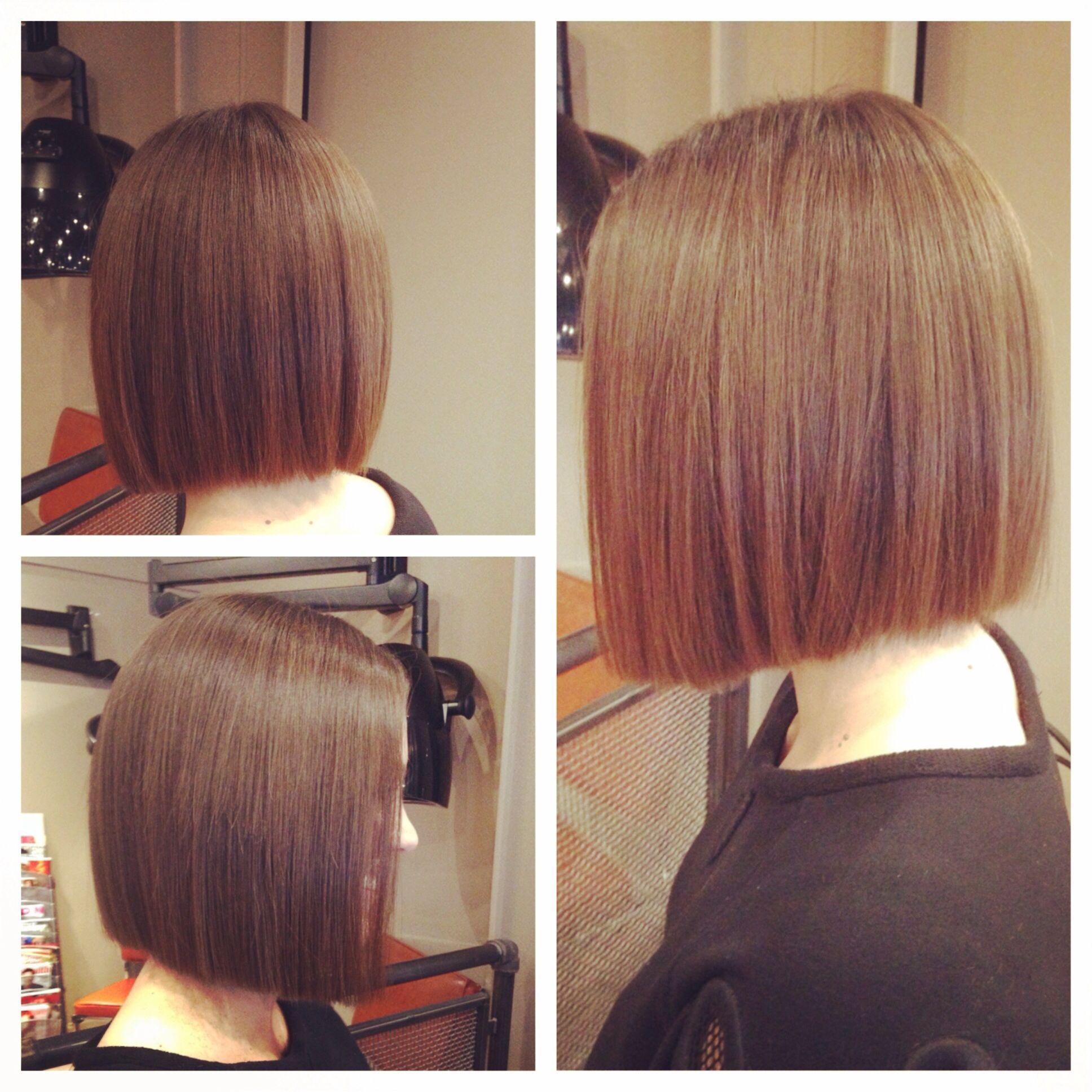 One length bob bob pinterest bobs haircuts and hair style one length bob urmus Choice Image