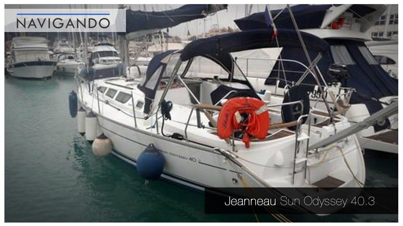 Jeanneau Sun Odyssey 40.3 del 2006 Dimensioni 11.75 mt x
