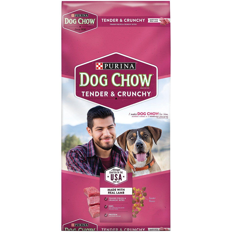 32 Lb Bag Purina Dog Chow Tender And Crunchy Dog Food Read