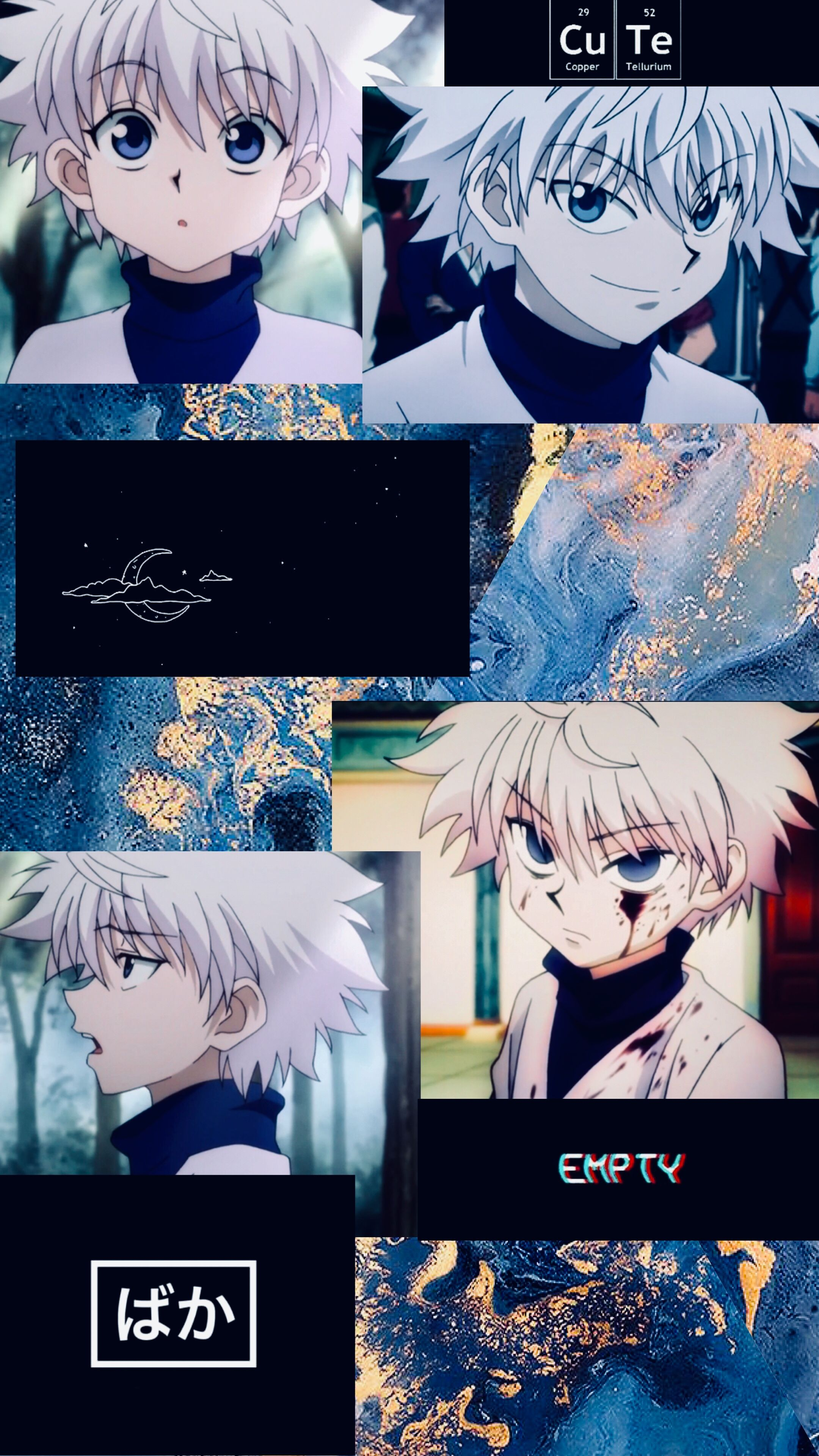 Pin By Tama Chan On Hunter X Hunter Cute Anime Wallpaper Aesthetic Anime Hunter Anime