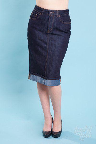 Rumble 59 Pencil Jeans Rock   Skirts Rokken Rock   Pinterest   Rock 1c72085263