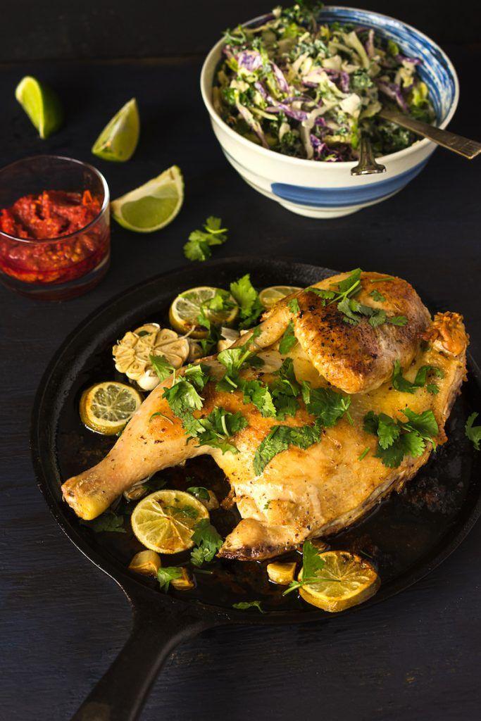 Zesty Lime Marinated Half Chicken - Anna Voloshyna ...