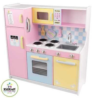 Kidkraft 53181 große Kinderküche Holz - k che mit holz
