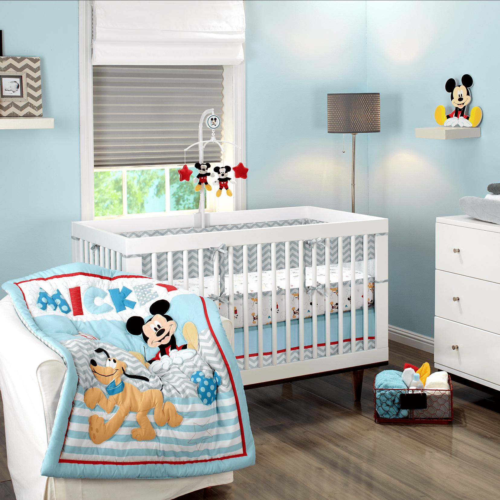 50 Mickey Mouse Baby Boy Room Organizing Ideas For Bedrooms  ~ Quarto De Bebe E Irmão Mais Velho