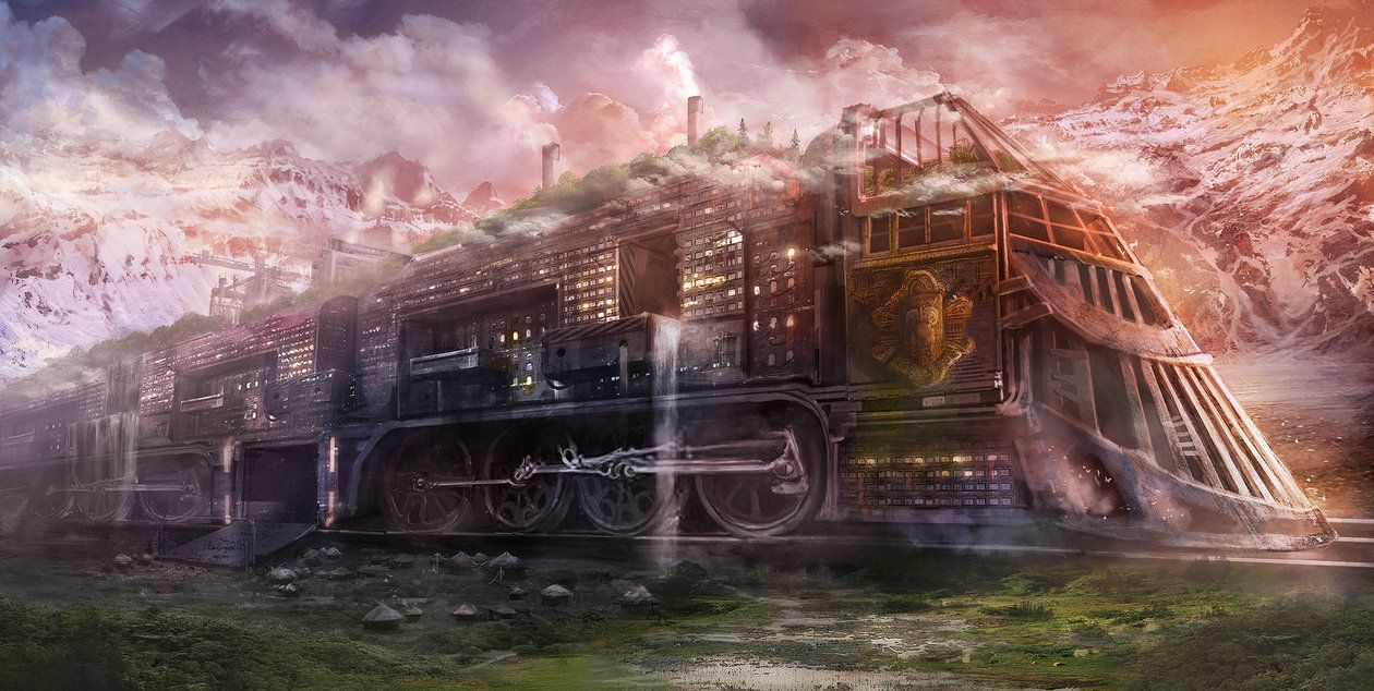 Here's a recent commission I was asked to do for John Elwood's new novel Rail City Chronicles. You can find out everything about the book right here: Make sure to give it a look! Also be sure to ch...
