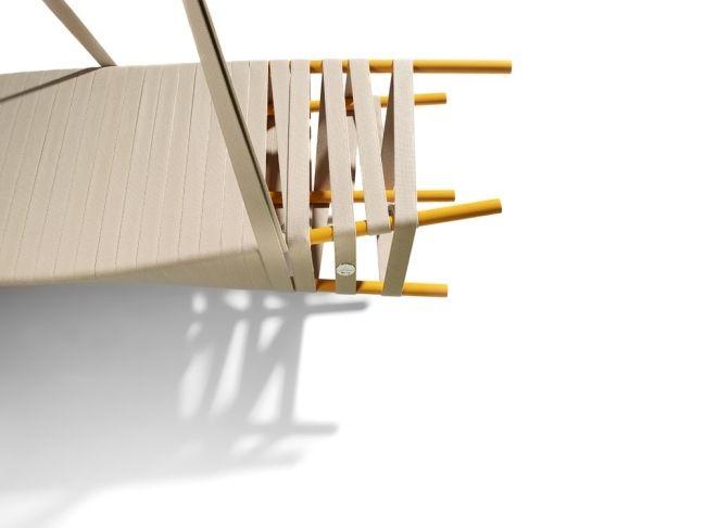 Moderne metallmöbel  Moderne Möbel-für Garten-Riemen Metall-Konstruktion Doyen | garten ...