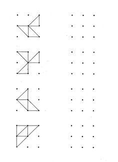 Afbeeldingsresultaat voor figuurtjes tekenen op raster