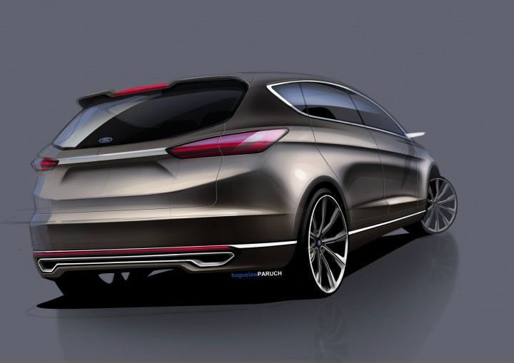 Ford S Max Concept Design Gallery Concept Car Sketch