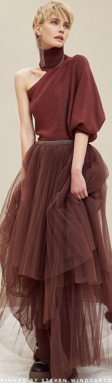 Brunello Cucinelli Fall 2018 Ready-to-Wear Fashion Show