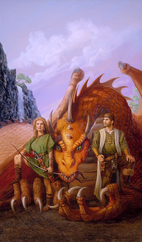 Dragonlance, Barbarians Trilogy, Children of the Plains by Corey Wolfe.