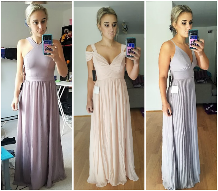 80b7ddf5a75 what  Lulus  Bridesmaid Dresses look like in real life... see 17 options!