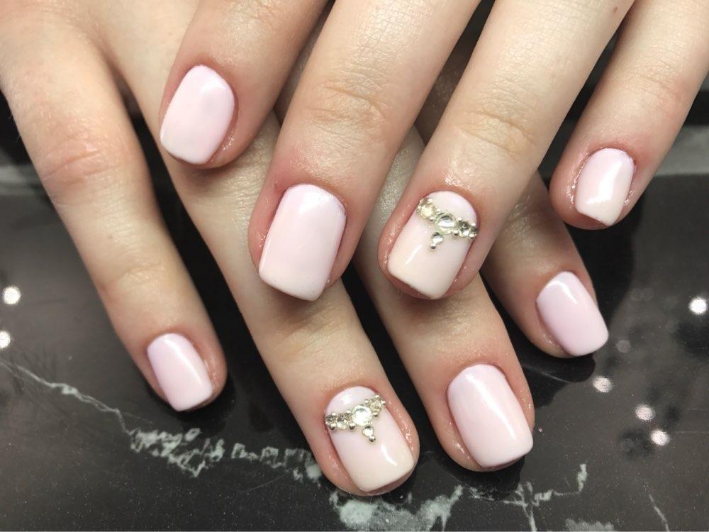 100 Simple Rhinestone Nail Art Designs For Summer Winter Fall Spring ...
