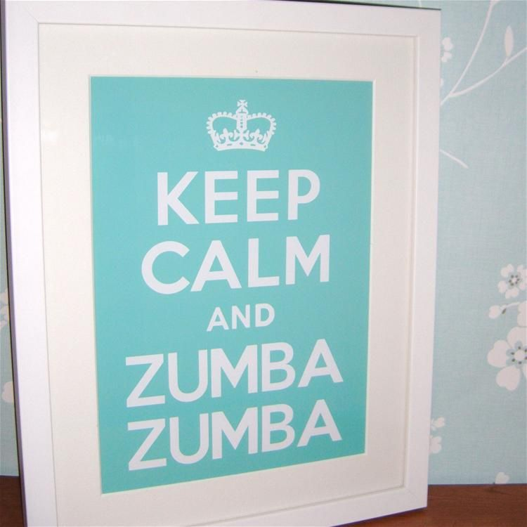 Image detail for -KEEP CALM Zumba Zumba! 11x14 Frame