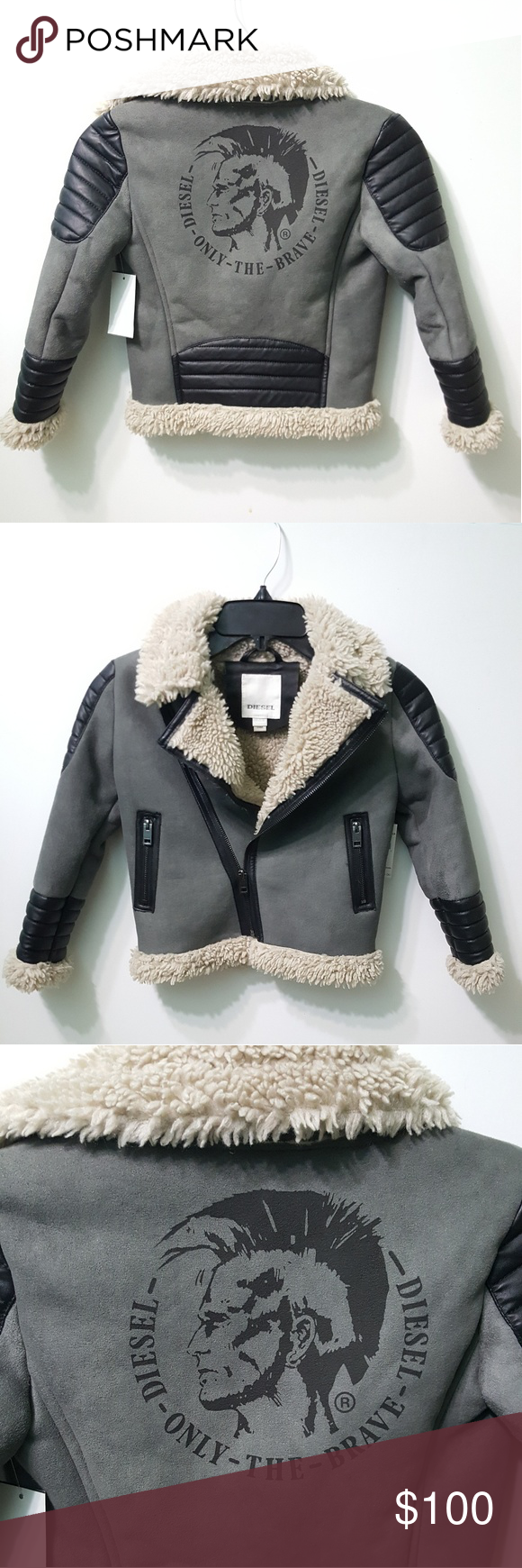 Hp Nwt Diesel Boyswear Jacket Nordstrom Coats Jacket Brands Diesel Jacket [ 1740 x 580 Pixel ]