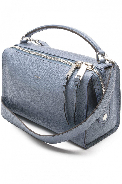 d271e2d08bc0 FENDI Сумка-саквояж из «римской» кожи | Bags | Bags, Bowling bags и ...