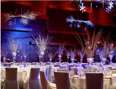 Lovely Winter Wonderland Balloon Decorations | LED Lighted Centerpieces And  Decorations   Lighted Branches, Trees .
