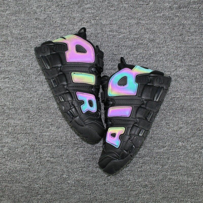 285818482a8 Nike Air More Uptempo Colorway Rainbow Black | Want. in 2019 | Cheap ...
