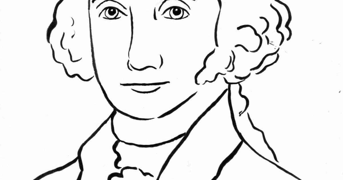 George Washington Coloring Page Awesome George Washington Coloring Page Art Sta American Flag Coloring Page Captain America Coloring Pages Whale Coloring Pages