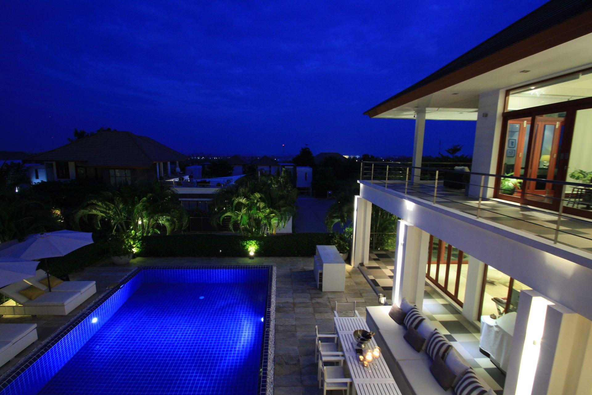 Villa A Hua Hin Thailande Homeexchange Piscine