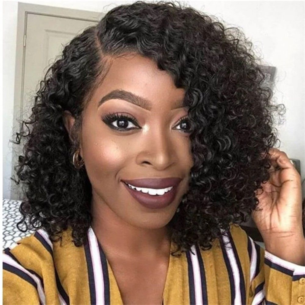 Pre Plucked Bob Lace Front Wigs Short Brazilian Straight Lace Wigs 13x4 Glueless Lace Front Human Hair Wigs Wig Hairstyles Medium Curly Hair Styles Curly Hair Styles