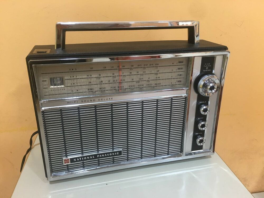 Vintage Radio National Panasonic R 100b From 60s Ebay This Is An Affiliate Link If You Purchase Through This Link I Recei Vintage Radio Radio Appliance Sale
