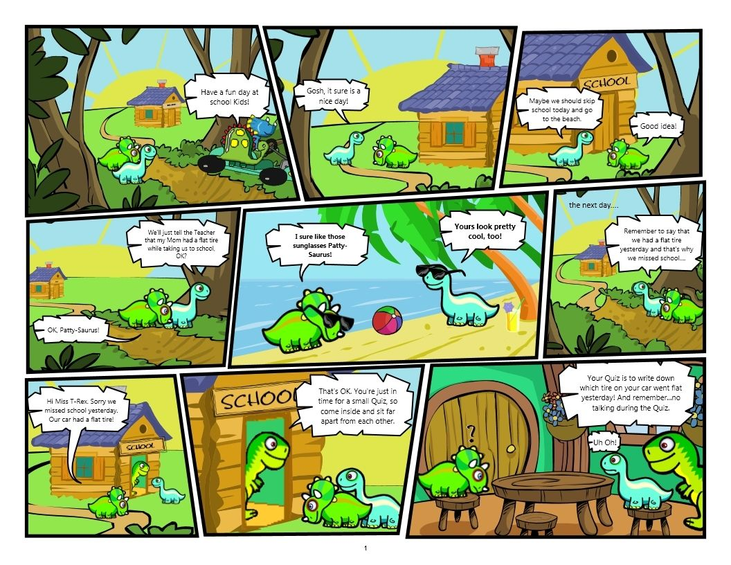 dinosaur kids skipping dinosaur comics pinterest