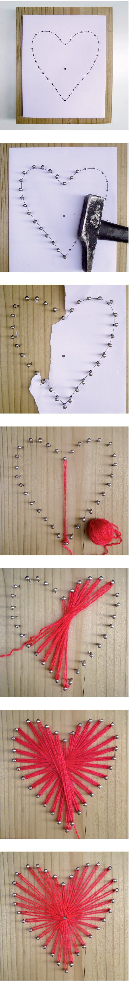 C Ur Fil Tendu  String Art