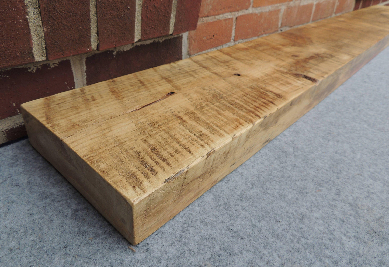 Barn Wood Mantle Shelf 64 X 8 X 2 Authentic Cottonwood Mantel