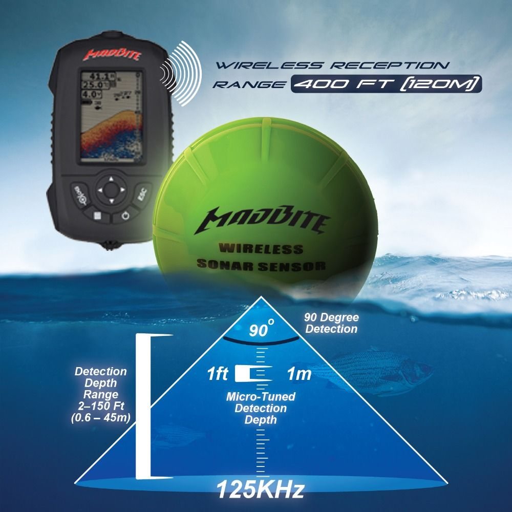 how to read a fish finder saltwater