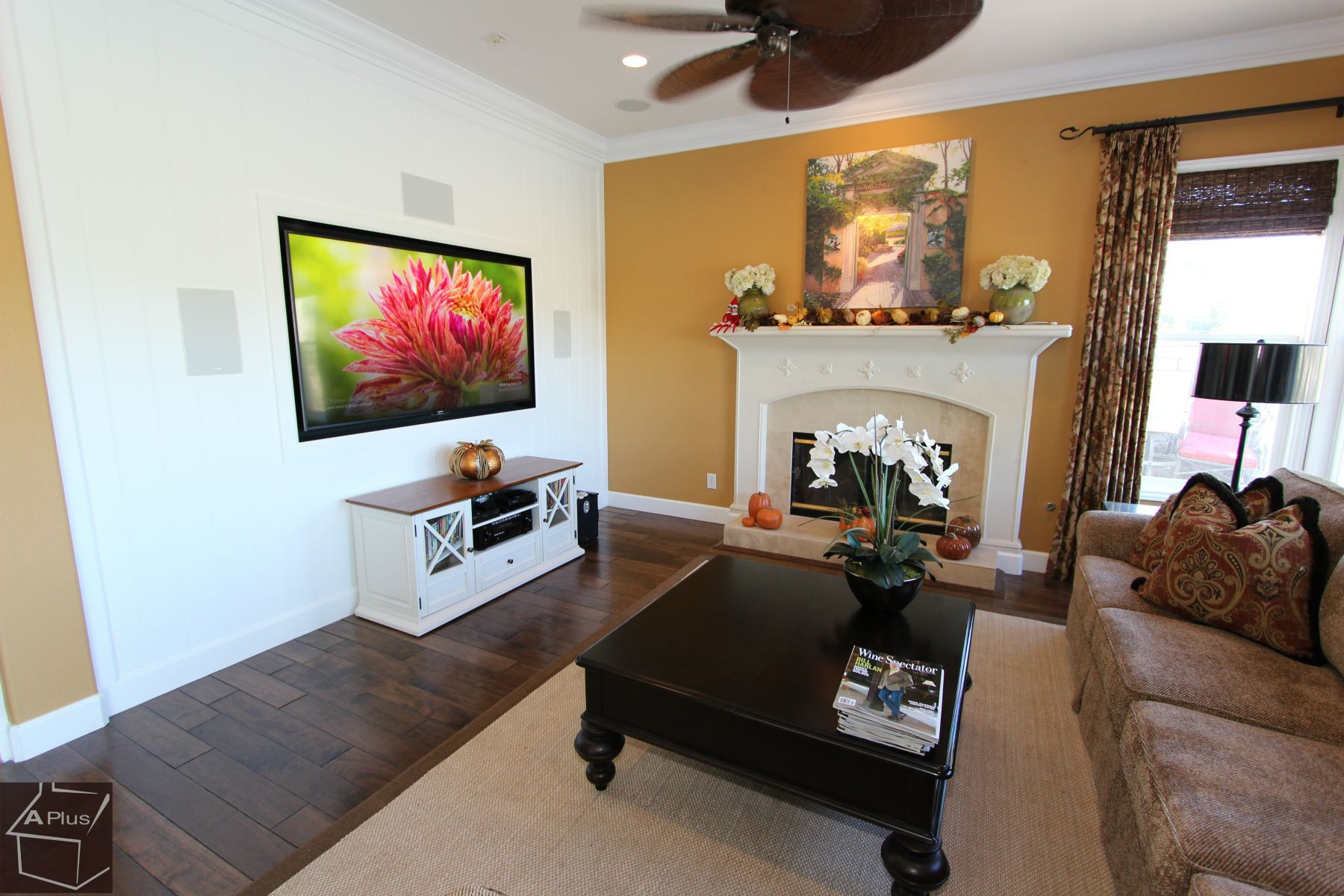Entertainment Center Fireplace Remodel Design Build Custom
