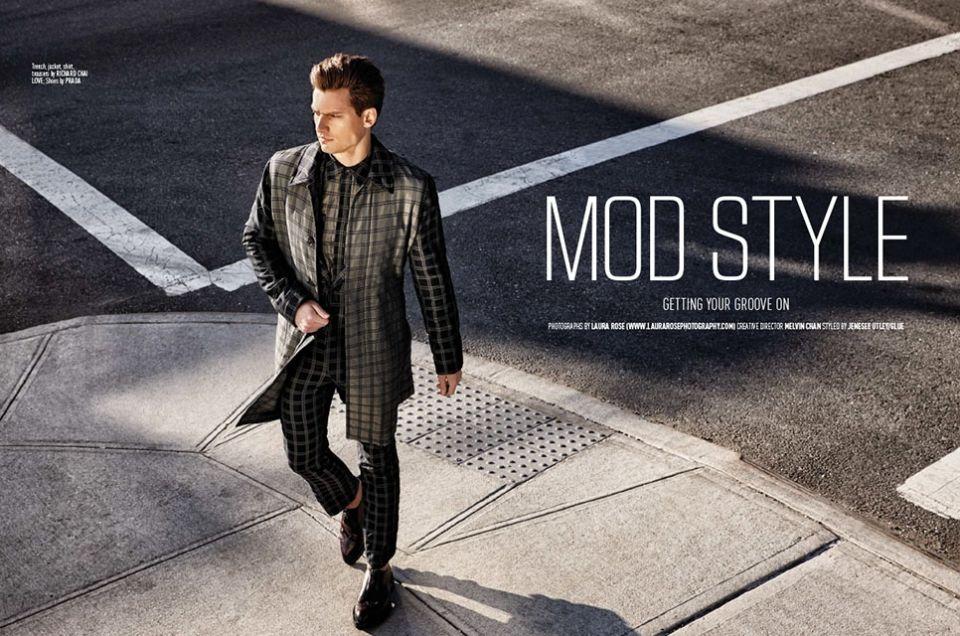 Marc Mena Hair Stylist Mod Fashion Style Mod