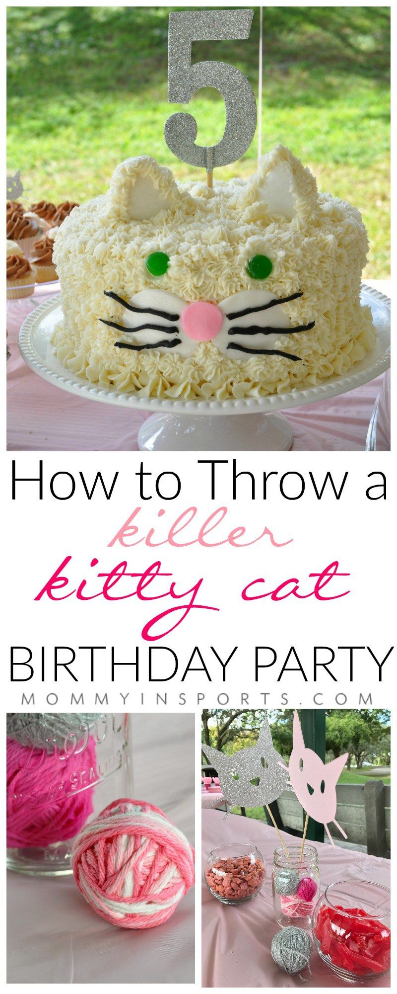 How to Throw A Killer Kitty Cat Birthday Party Kitty cat party