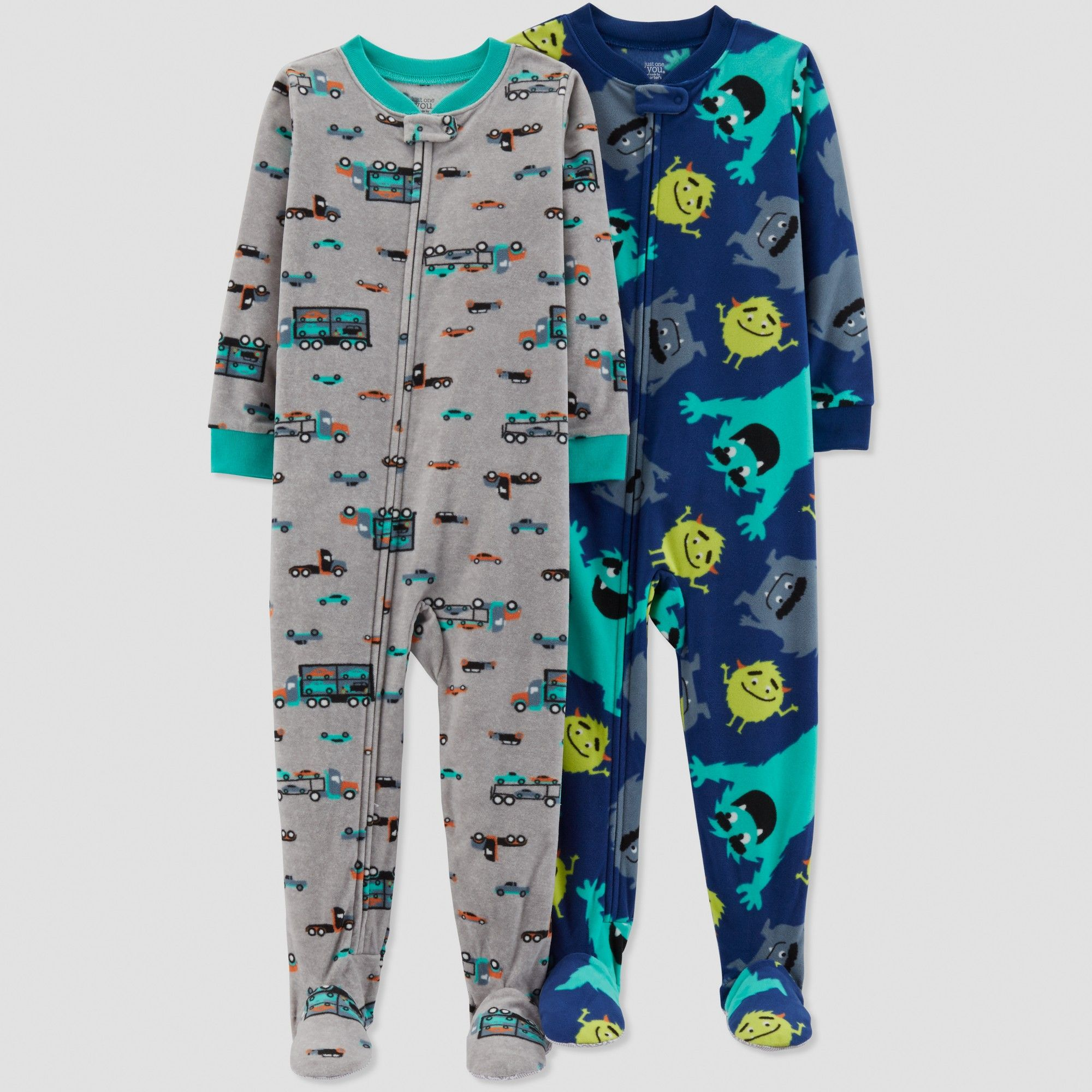 442fcfd04 Toddler Boys  Monster Pajama Set - Just One You made by carter s ...