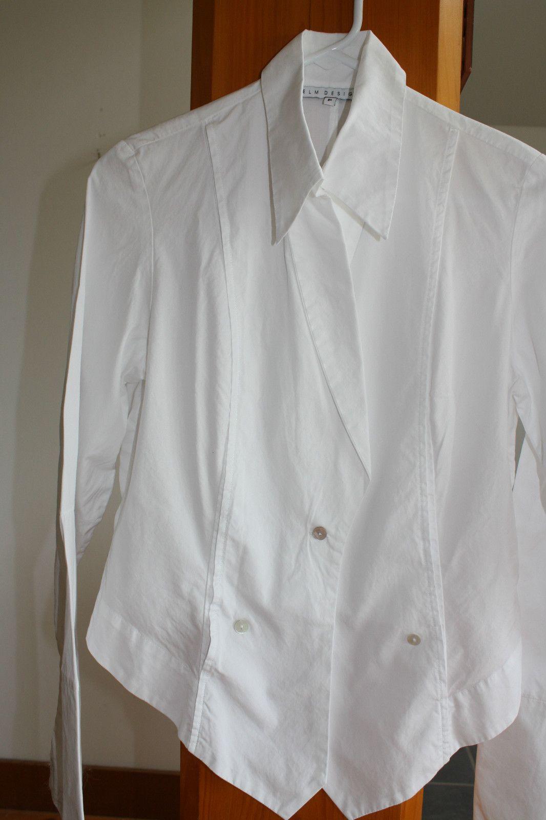 Unusual Elm Design Perfect White Cotton Shirt Woptional Tuxedo