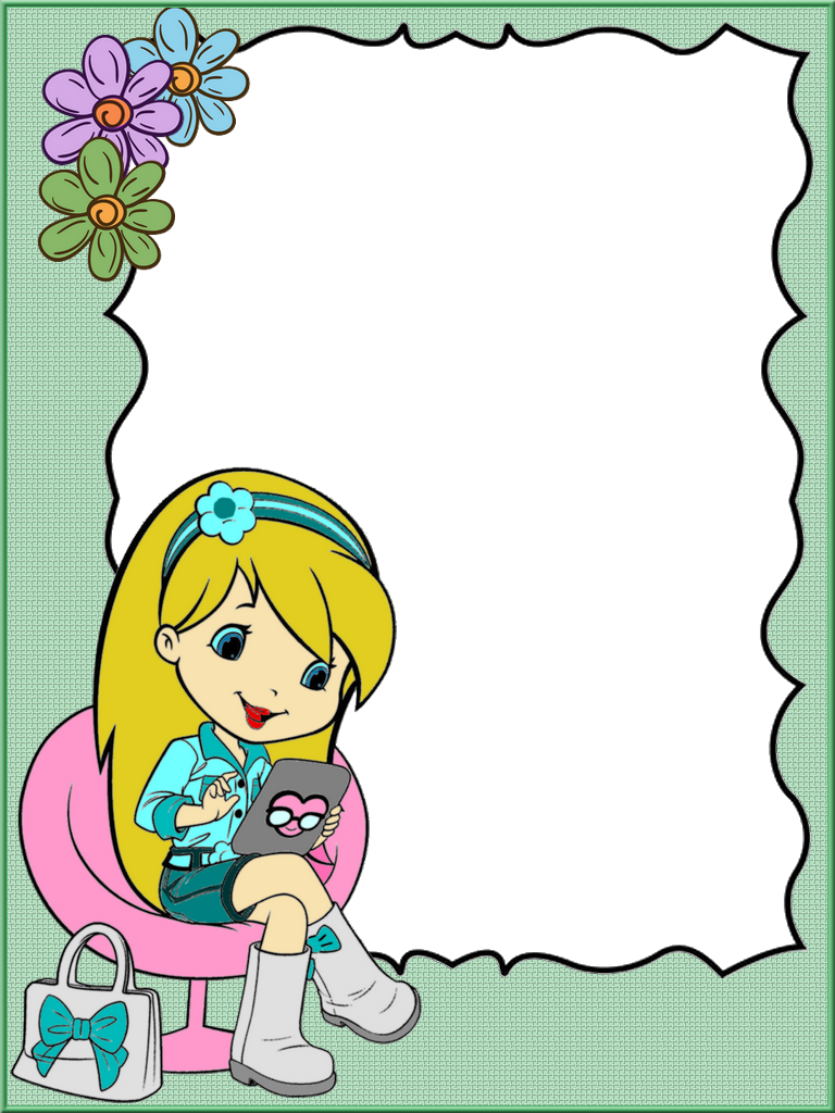 Frame For Children Png Page Borders Design Colorful Borders Design Clip Art Borders