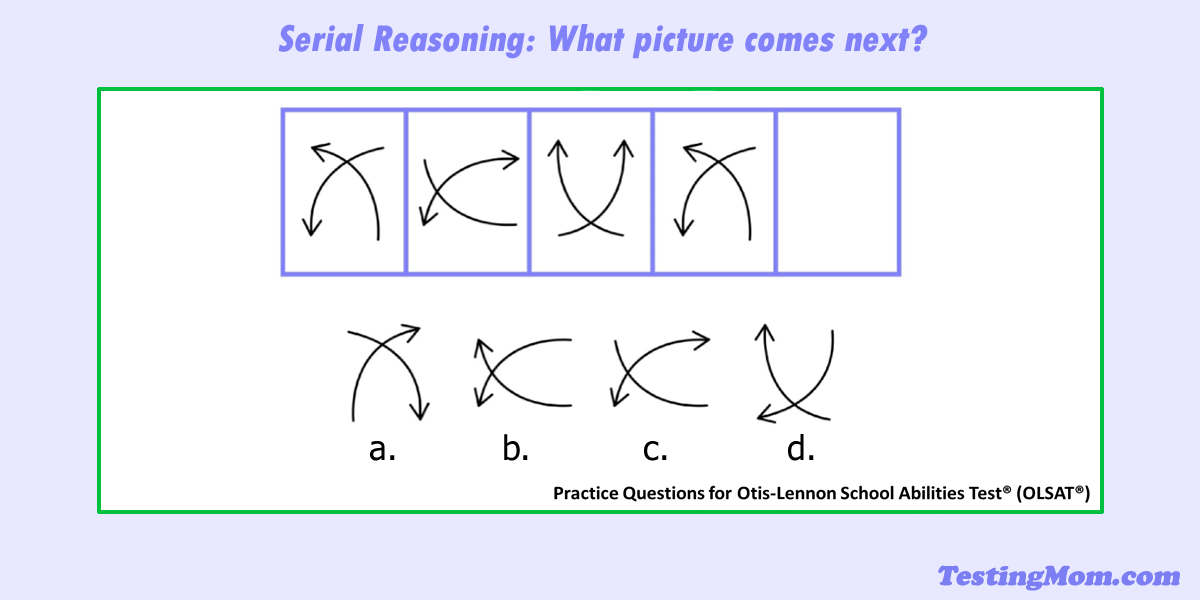What Comes Next In The Pattern Second Grade Kids Practice Test
